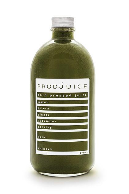 Lemon ginger spinach kale celery cucumber parsley   Prodjuice www.prodjuice.com.au