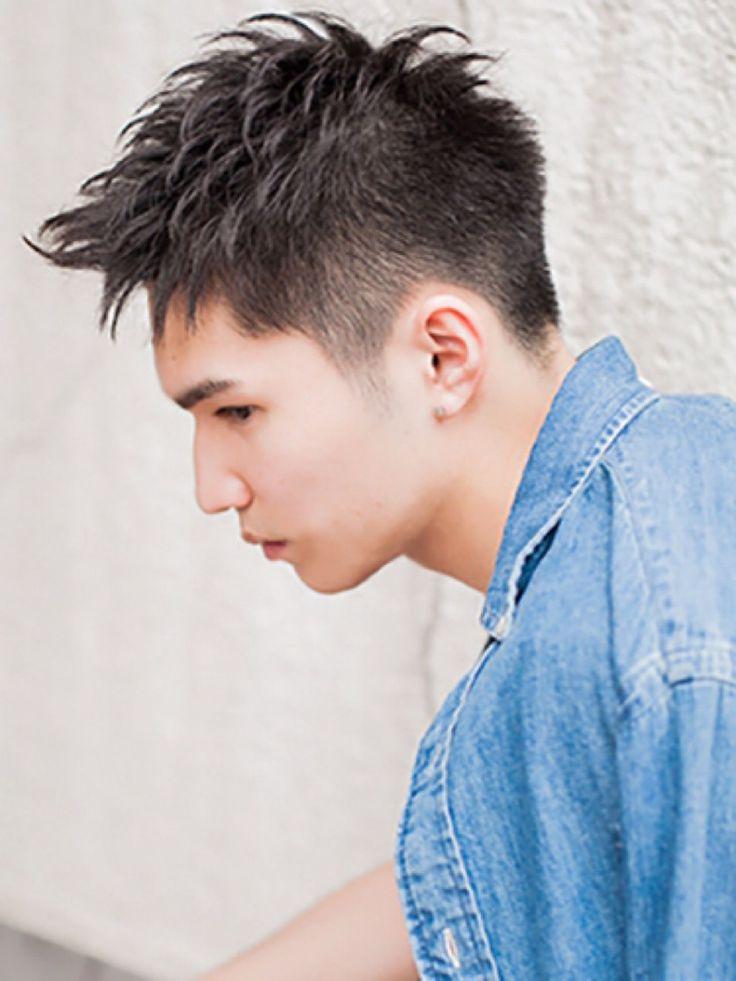今年の夏はワイルド系にイメージチェンジ♡アップバングで決めるメンズスタイル | HAIR