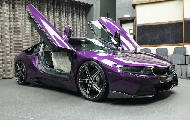 Twilight Purple BMW i8 Looks Fit For The Joker