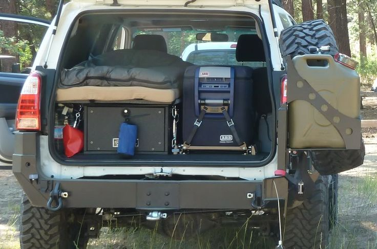 Toyota 4runner camper conversions