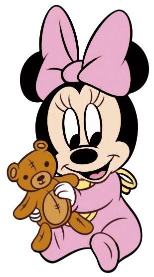 Baby Minnie w/Bear