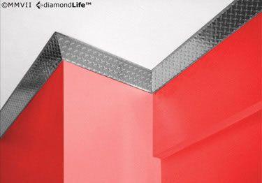 Diamond Plate Wall Crown Molding
