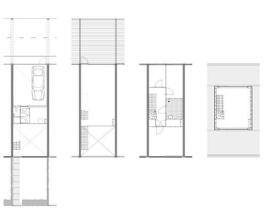 23 Town Houses in Amsterdam,plan 03