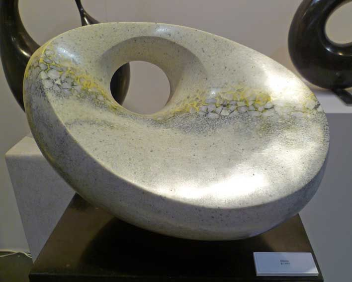 Gallery of new works 2013/ Jeremy Guy Sculpture / Contemporary Abstract Stone Sculpture
