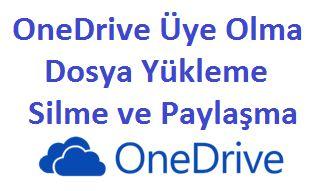 OneDrive Üye Olma Dosya Yükleme Silme ve Paylaşma http://www.seomektebi.com/2014/12/onedrive-uye-olma-dosya-yukleme-silme.html Microsoft bulut depolama hizmeti OneDrive'ın ücretsiz depolama alanı 15GB tır.OneDrive,Dropbox,Google Drive ve Yandex Disk bulut depolama hizmetinde kaliteyi sunmak için oldukça rekabet etmektedirler.