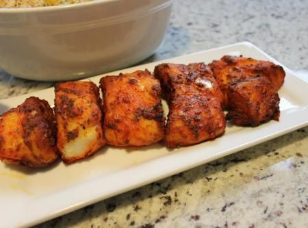 Baked Smoked Paprika Corvina Fish Recipe
