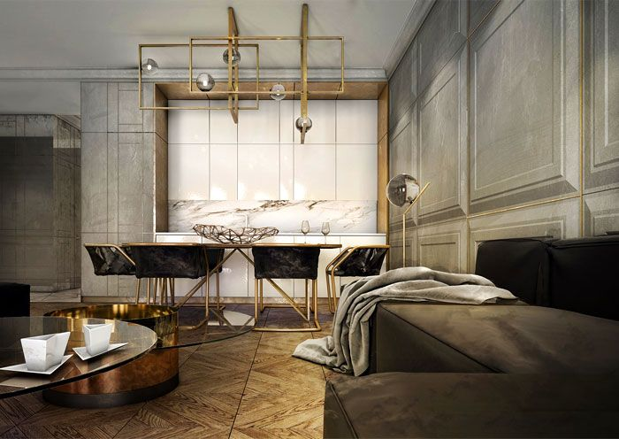 Apartment in Gdansk by Ideograf | royalhomesinfo.com - Modern design projects, design advices and tips