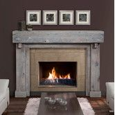 Fireplace Mantel | $1,250.00 | Driftwood |  Heritage Reclaimed Fireplace Mantel Surround