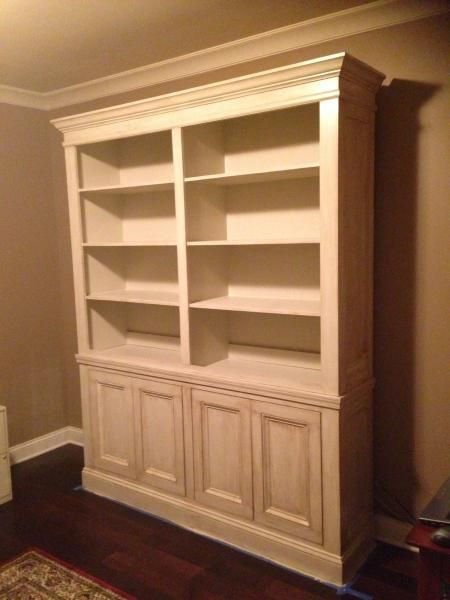 do it yourself built in bookcase plans woodworking