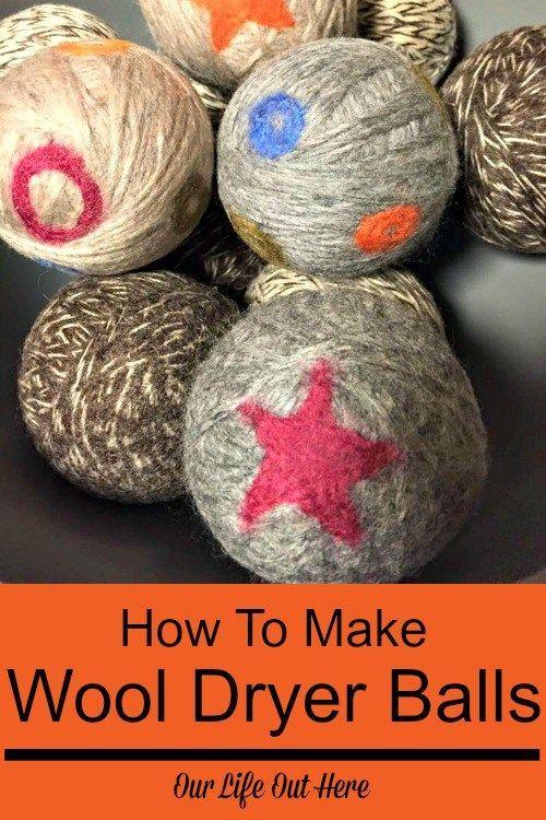 How To Make Wool Dryer Balls In 2020 Wool Dryer Balls Dryer