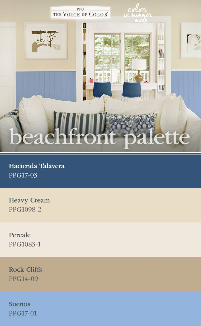 25 best summer beach house color inspiration images on The color blue makes you feel