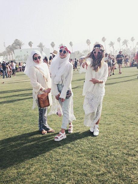 Hijabi Coachella