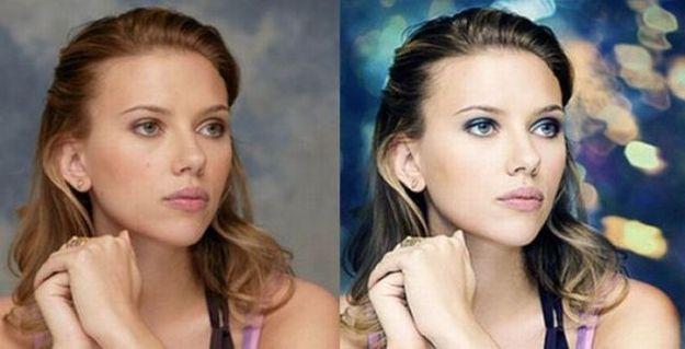Scarlett Johansson   23 Celebrities Before & After Photoshop
