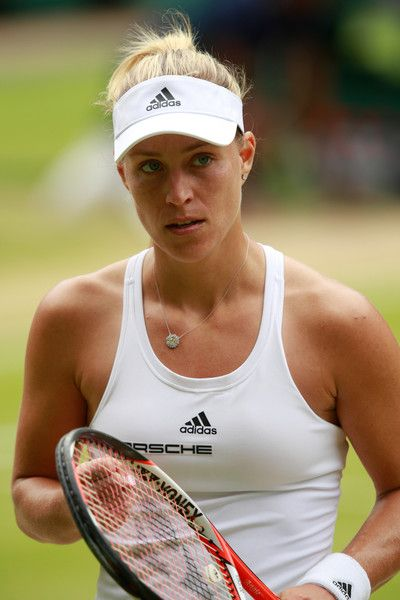 Angelique Kerber Wimbledon Lawn Tennis Championships at the All England Lawn Tennis and Croquet Club on July 9, 2016 in London, England. - Day Twelve: The Championships - Wimbledon 2016