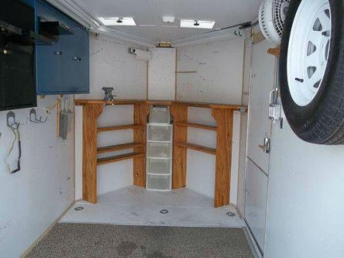 Enclosed Trailer Shelving >> Enclosed Trailer Cabinets v Nose images | LC | Pinterest ...