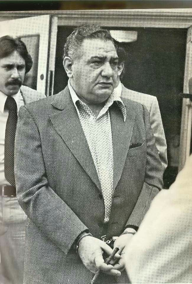 Jersey Genovese crew member and one of six brothers made into the family ,Anthony 'nana' Campisi.