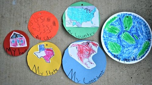 """""""My Place in the World:"""" Kids Geography Project"""