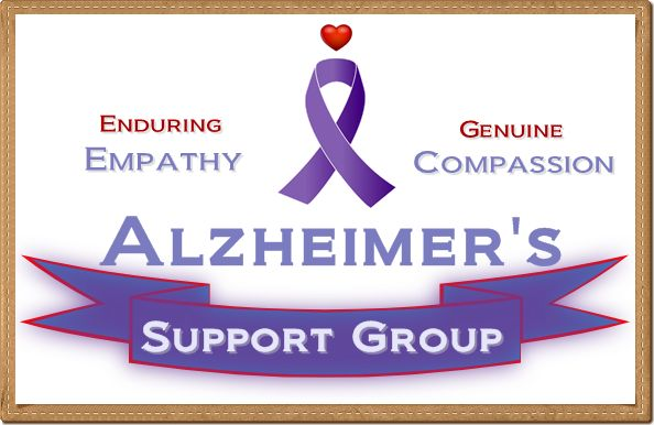 Alzheimer's Support Group - both online and in person. Join the conversation with us today!