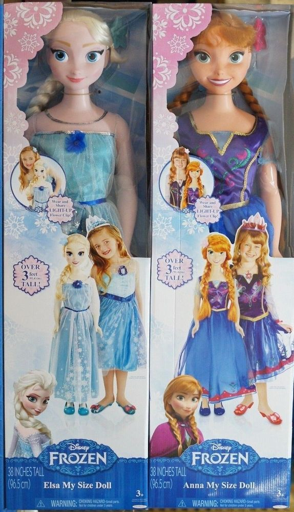 Disney Frozen Elsa My Size 38 Quot 3 Ft Tall Doll 2014 1st Edition Precious Moments Precious