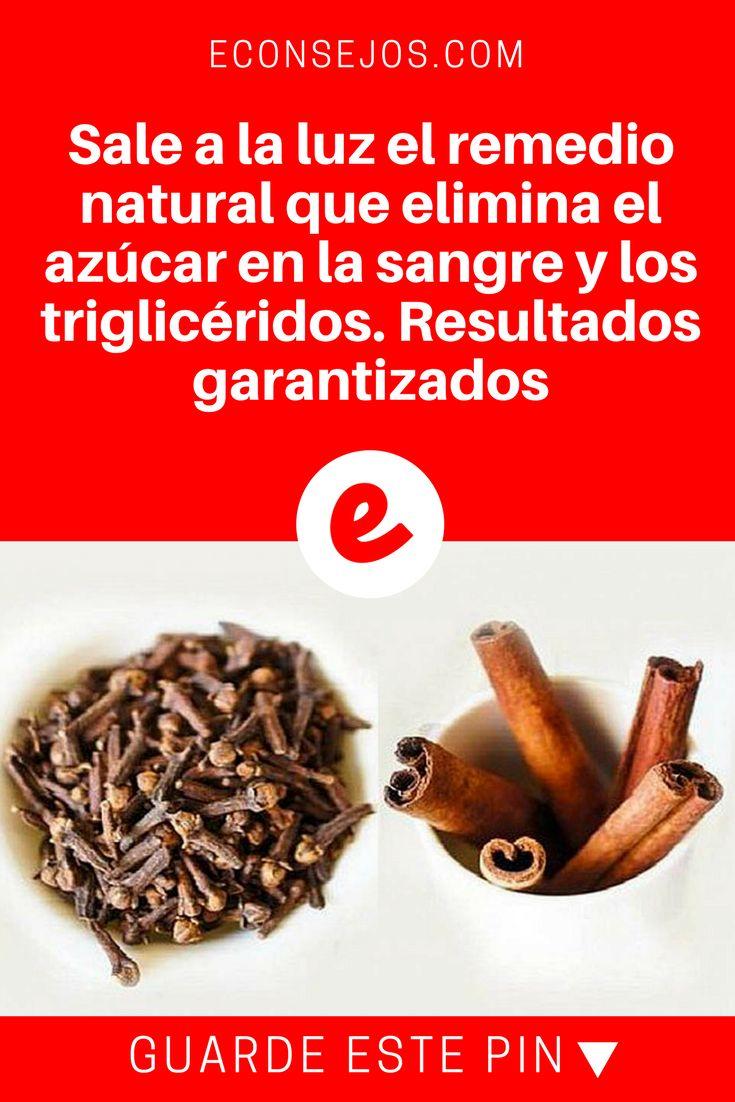 Azucar en la sangre | Sale a la luz el remedio natural que elimina el azúcar en la sangre y los triglicéridos. Resultados garantizados