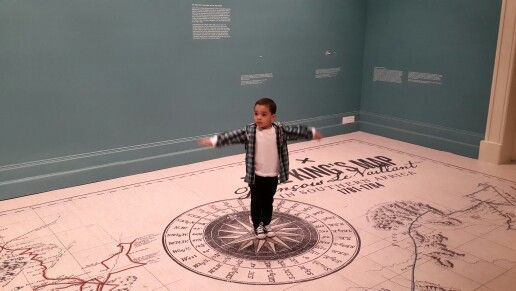 Centre of our world! Little Mr Davids