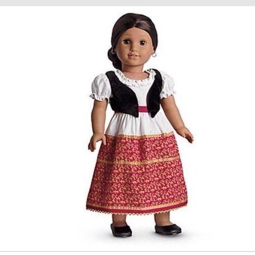 Josefina Birthday Dress: American Girl Josefina's Dress & Vest And Shoes Outfit