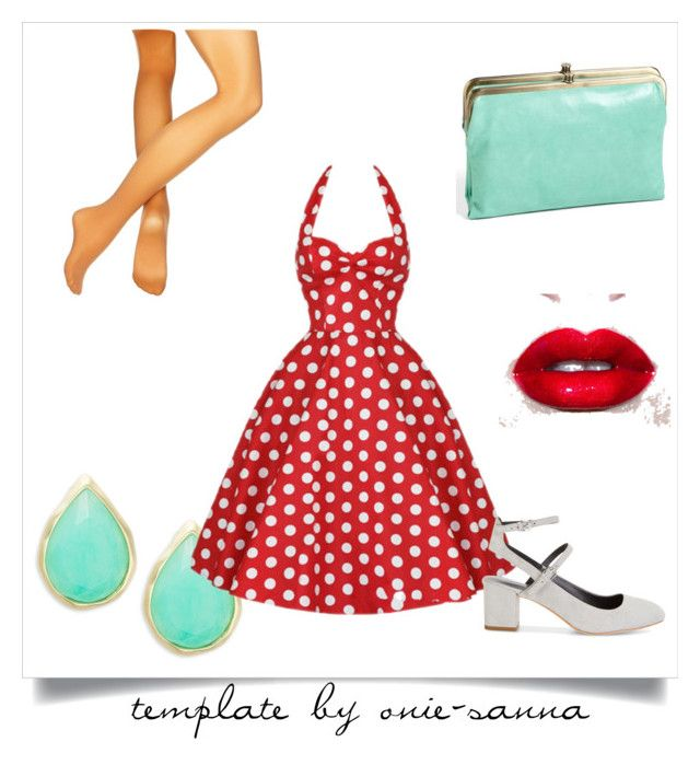 50' by sylwia-wojtczyk on Polyvore featuring moda, Capezio, Rebecca Minkoff, HOBO, Karen Kane and Lime Crime