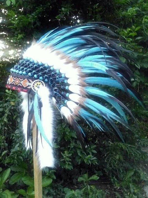 Indian Headdress inspired by Native American Indian Headpiece