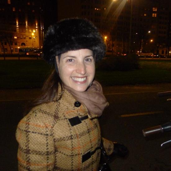 Fake Fur Bicycle Helmet!!! LOL