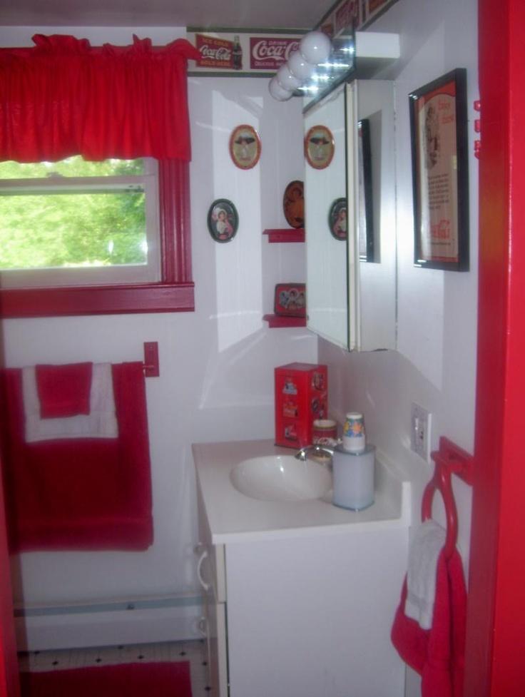 Charmant Coca Cola Bathroom!