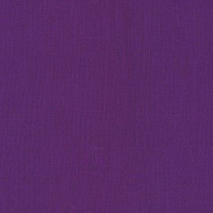 Kona Cotton Solid Mulberry Purple Cotton Quilt Fabric | eBay -- 8.00