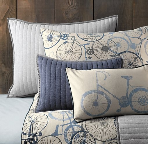 we love these cute bicycle pattern