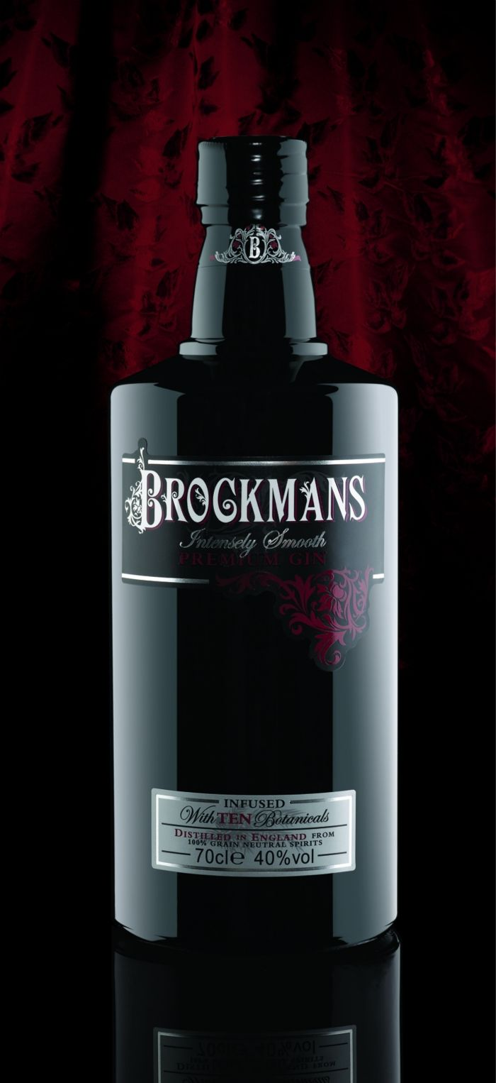 Brockmans Gin. Botella Beautiful bottle for all our #gin loving #packaging peeps. PD