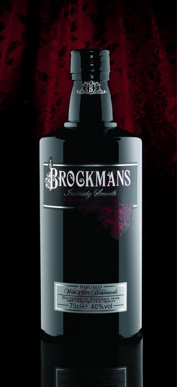 Brockmans Gin. Botella