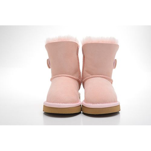 Cheap Pink Kids UGGs Clearance Boots Bailey Button 5991 Outlet Online Sale