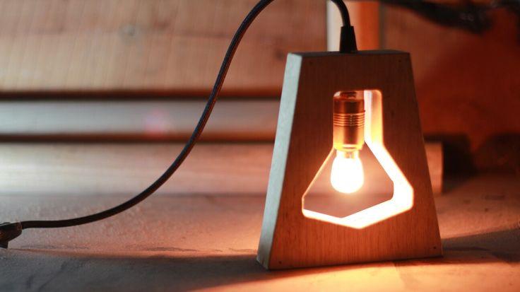 Ahşap Aydınlatma  Wooden lighting