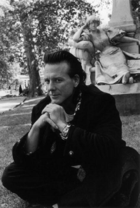 MICKEY ROURKE, PARIS, JUIN 1992