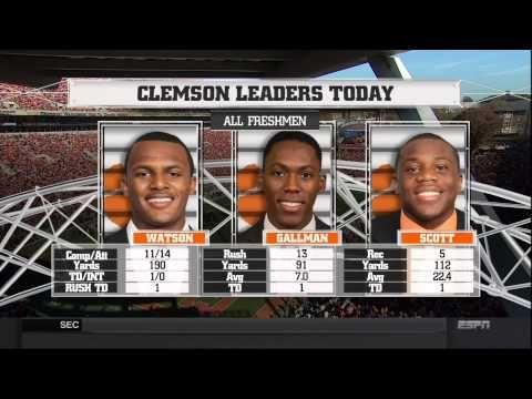 2014 Clemson vs South Carolina Football Game - YouTube