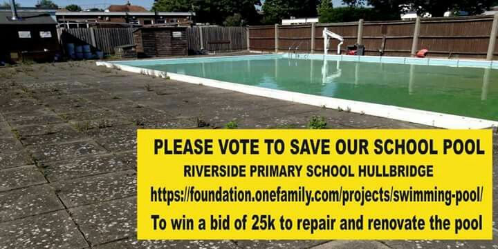 Please vote for our pool