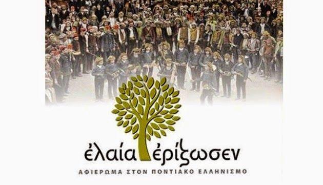 e-Pontos.gr: «Ελαία Ερίζωσεν» - Αφιέρωμα στον Ποντιακό Ελληνισμ...