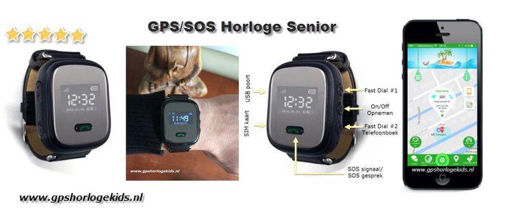 GPS Horloge Senior vanaf € 49,95 (3 luik)