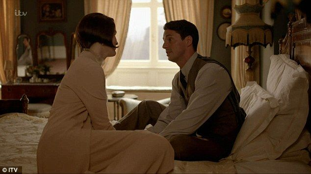Blissfully happy: Henry told Mary he didn't want to be a kept husband