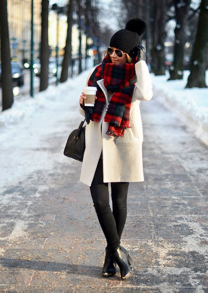 great winter look by Marianna