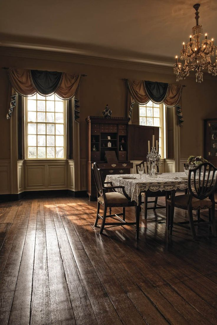 Berkeley Plantation (Dinning room in the main house)