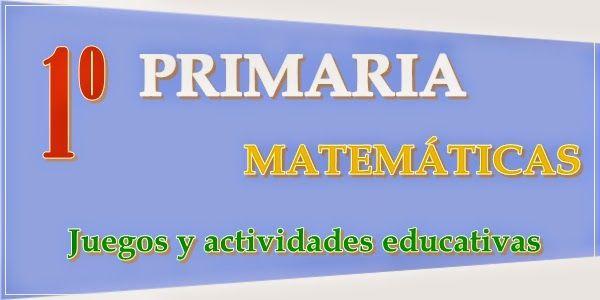 Mi clase 2000 Recursos Didácticos Digitales: 1º DE PRIMARIA MATEMÁTICAS: JUEGOS…