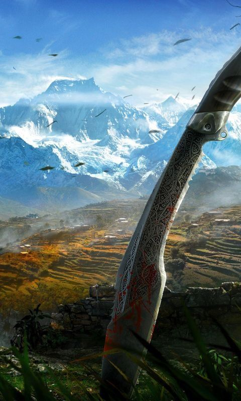 Far Cry 4 Himalayas Wallpaper For Iphone And 4k Gaming Wallpapers For Laptop Download Now For Free Desktop Wallpapers Backgrounds Far Cry 4 4k Gaming Wallpaper Far cry 4 phone wallpaper