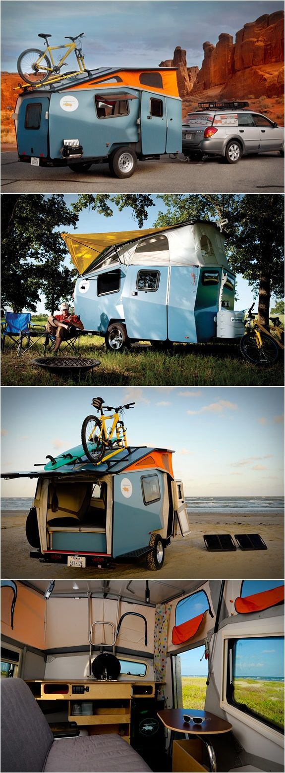 CRICKET POP-UP TRAILER. Made in the USA & designed by a NASA habitat module engineer! #adventuremode