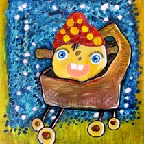 Art made by people with disabilities. For more information go to www.artide-kunstwinkel.nl.