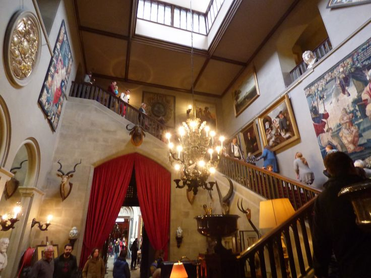 "The Grand Staircase of Eastnor Castle was used for ""The Eligible Bachelor"""