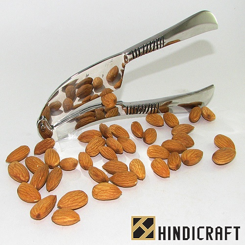 www.hindicraft.com    we offer top quality handmade stainless steel nut cutter .